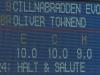 Cillnabradden Evo score board © Trevor Holt