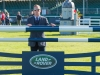 Oliver Townend walking the showjumping course © Trevor Holt