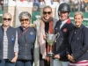 Angela Hislop, Val Ryan, Karyn Shuter and Oliver, prize giving © Trevor Holt