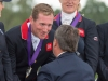 Oliver Townend, prize giving