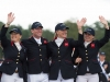 Team GBR, silver medal winners
