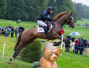 Oliver Townend of Great Britian riding Fenyas Elegance