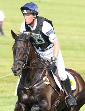 Oliver Townend and Black Tie, Barbury International 2013