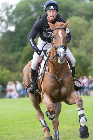 Oliver Townend and Armada