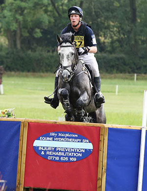 Oliver Townend and Shearwater Touchingwood, Aston, July 2014