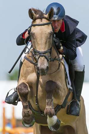 Oliver Townend and Sandiman II