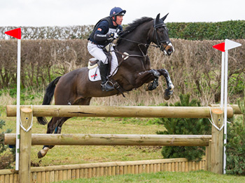 Oliver Townend riding Mr Hiho