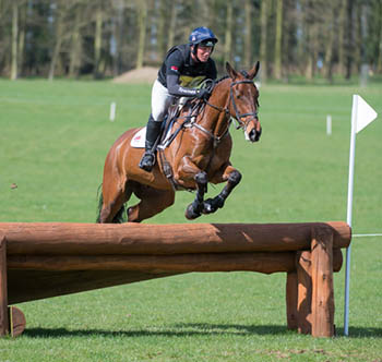 Oliver Townend riding Pursuit