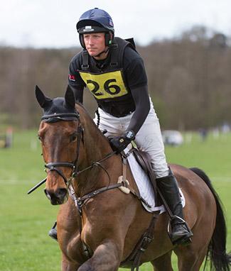 Oliver Townend riding Sonic De Sermentol