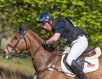 Oliver Townend riding Power Dirive