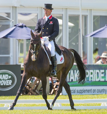 Oliver Townend (GBR) riding Lanfranco