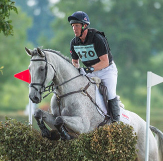 Oliver Townend  riding Ballaghmor Class