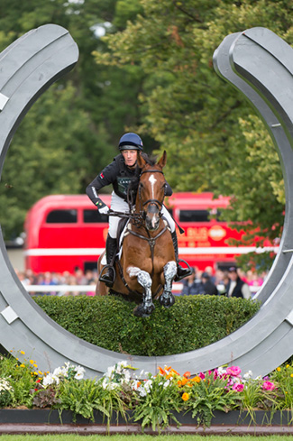 Oliver Townend (GBR) and  Dromgurrihy Blue