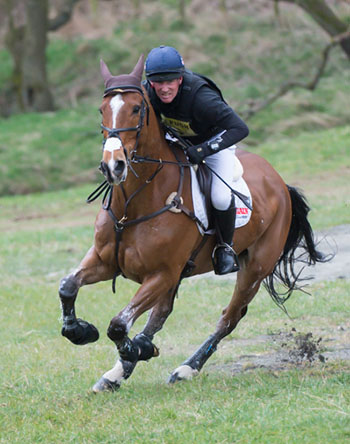 Oliver Townend (GBR) riding Dromgurrihy Blue