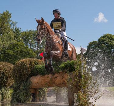 Oliver Townend (GBR) riding Fenyas Elegance