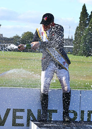 Oliver Townend, ERM Finals winner, Blenheim Int  HT 2016