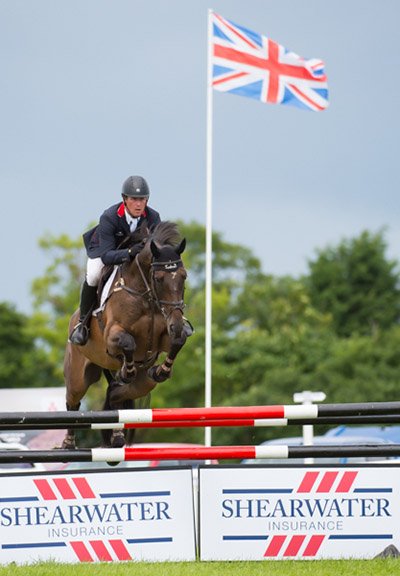 Oliver Townend (GBR) riding ODT Ghareeb Ghareeb